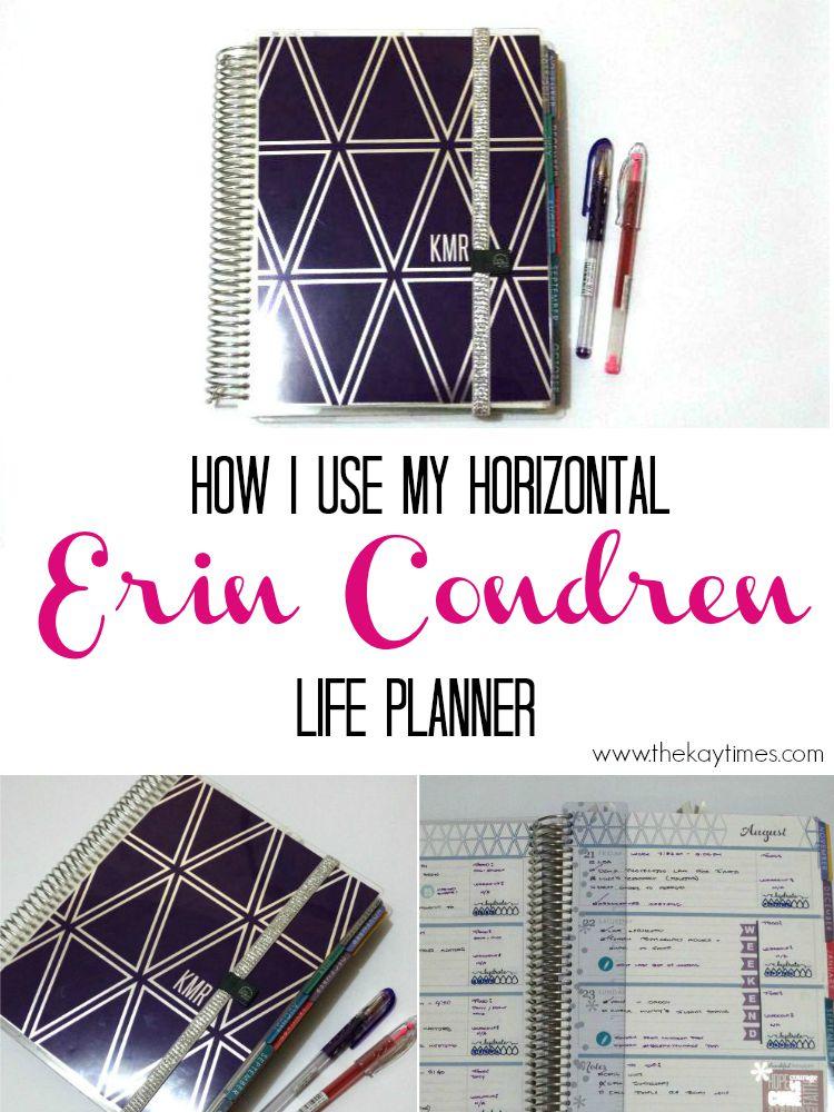 Erin Condren Horizontal Life Planner