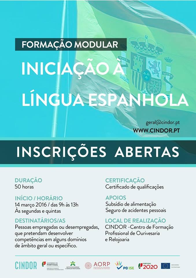 Curso grátis de Língua Espanhola em Gondomar