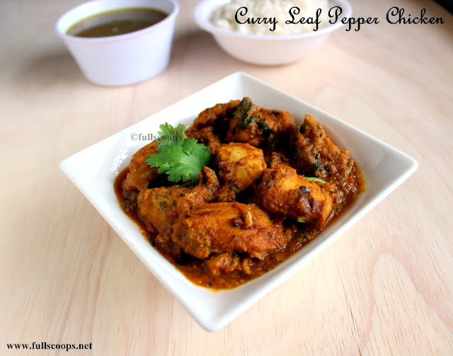 Curry Leaf Pepper Chicken