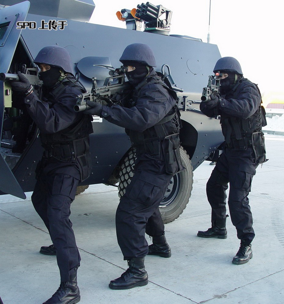 China Police: Chinese Armed Police Force (CAPF)
