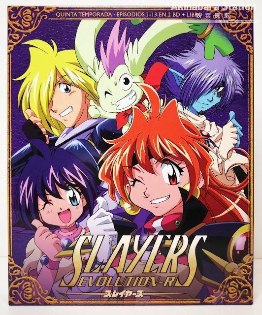 Review de Slayers Evolution-R Box ed.Coleccionistas - SelectaVisión