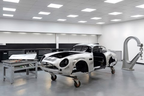 Aston Starts Production on the DB4 GT Zagato Continuation