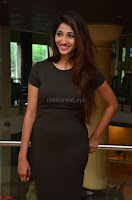 Priya Vadlamani super cute in tight brown dress at Stone Media Films production No 1 movie announcement 050.jpg