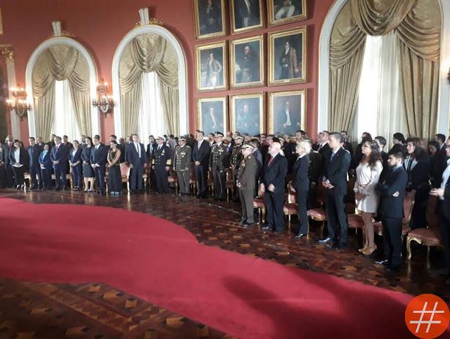 El gabinete ejecutivo tomó por sorpresa la sede de la Asamblea Nacional