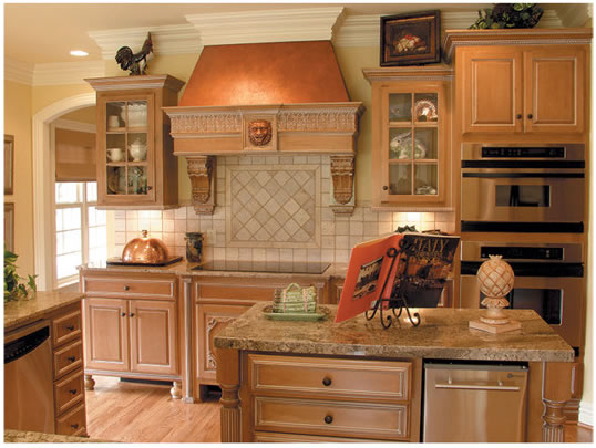 New Home Designs Latest.: Homes Modern Wooden Kitchen
