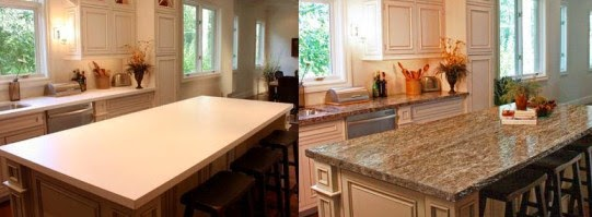 How To Paint Laminate Kitchen Countertops To Look Like Granite