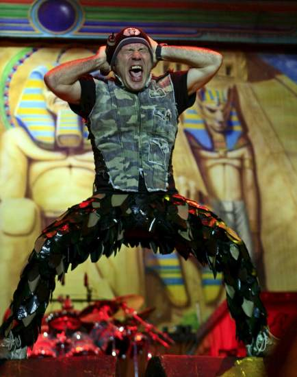 Bruce Dickinson, vocalista de Iron Maiden