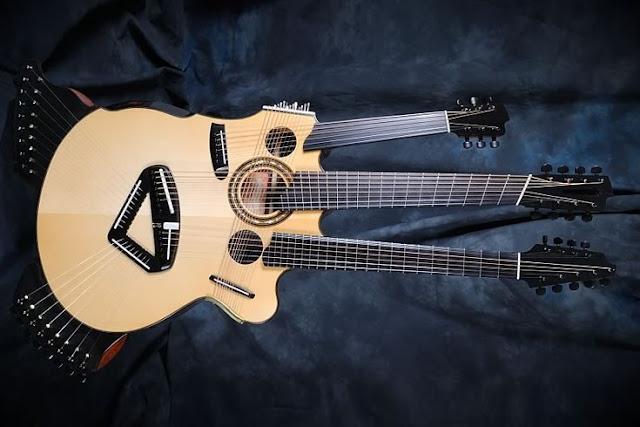 alat musik unik di dunia Pikasso Guitar