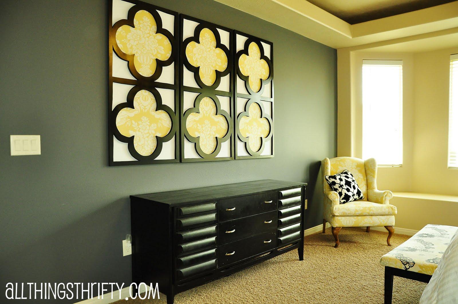 Beautiful Black White Wall Decor Model Art