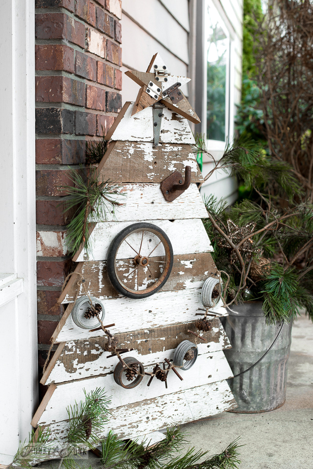 Junk Christmas Tree