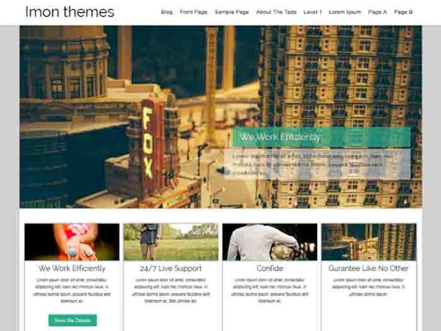 Hathor WordPress Template Free Download