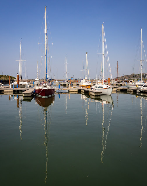 Photo of boats at Maryport Marina
