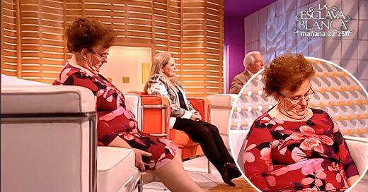 La divertida broma a una mujer que se quedó dormida en TV