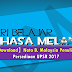 【Download】Nota Penulisan Bahasa Malaysia untuk Persediaan UPSR 2017
