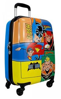 Mala de Viagem 18 DC Comics MF10087DC Azul