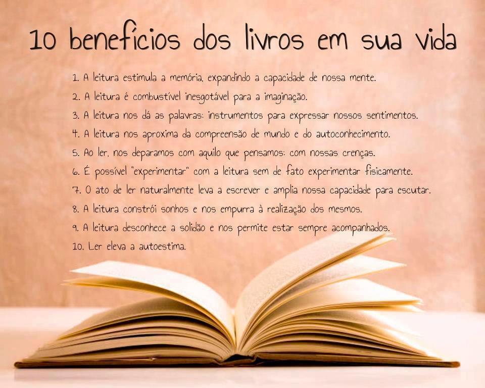 Dona Dica: Por que Ler é tão bom?
