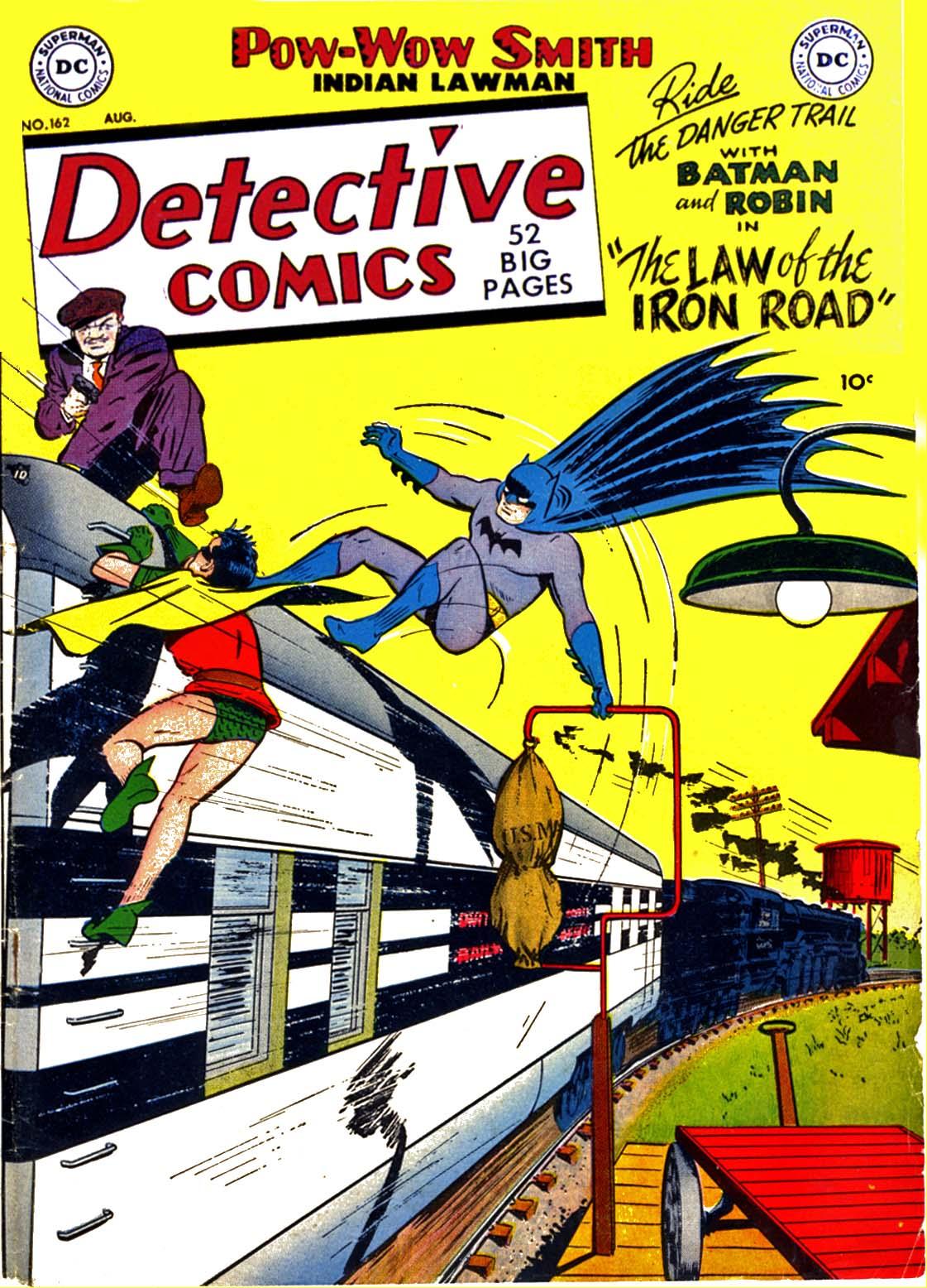 Read online Detective Comics (1937) comic -  Issue #162 - 1