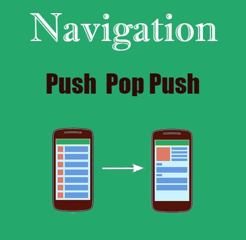 Flutter- Screen push and pop with Navigator  ~ Developer Libs