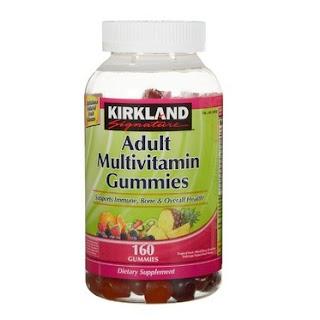 Kẹo Dẻo Bổ Sung Vitamin Cho Người Lớn – Kirkland Signature Adult Multivitamin 160 Viên - TPBS02
