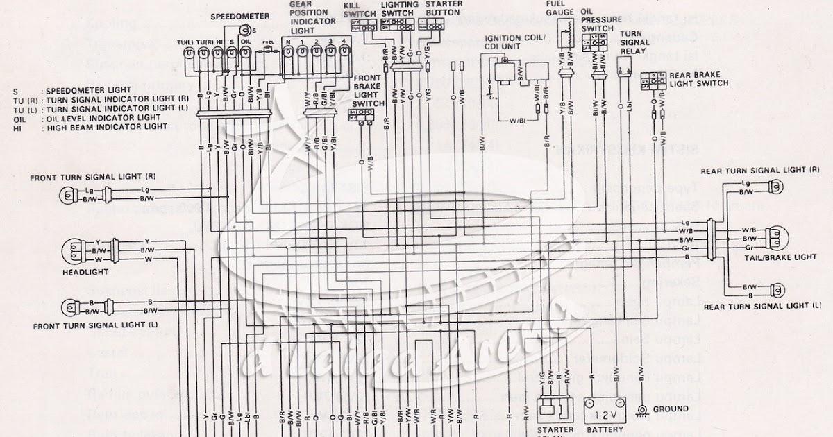 Wiring Diagram Kelistrikan Vespa Super