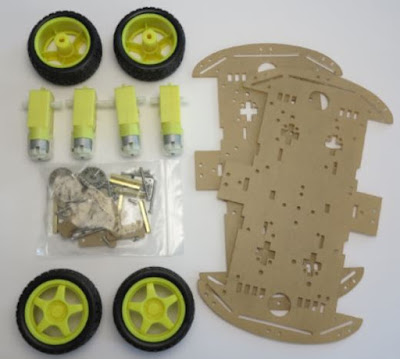 Component Required to make Bluetooth RC car