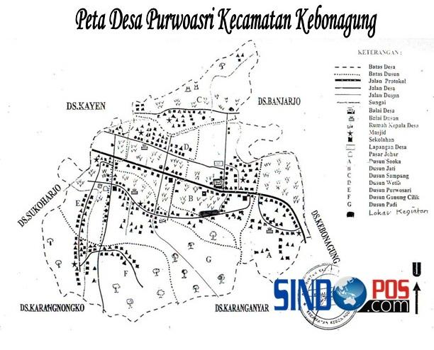Profil Desa & Kelurahan, Desa Purwoasri Kecamatan Kebonagung Kabupaten Pacitan