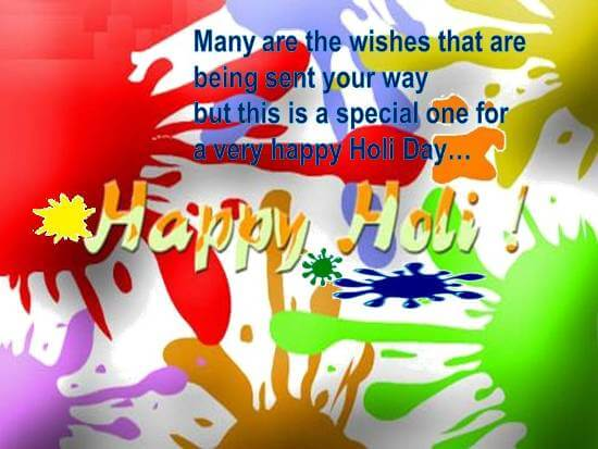 Happy Holi Graphics Scraps Images Ecards for Facebook