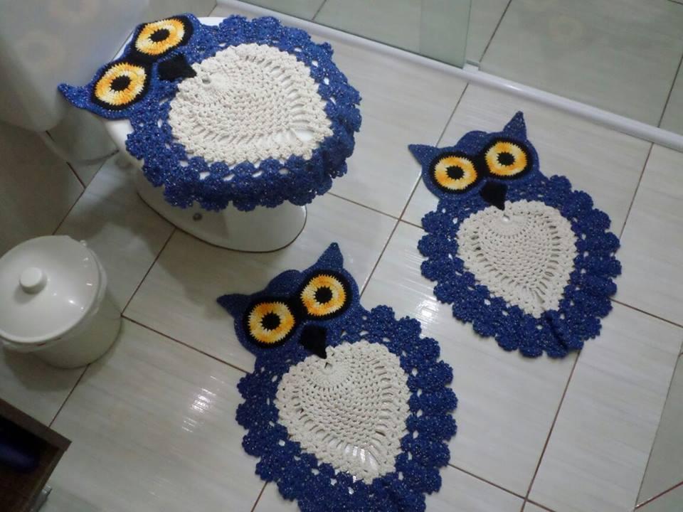 Needlework коврик сова для ванной Bath Rug Owl