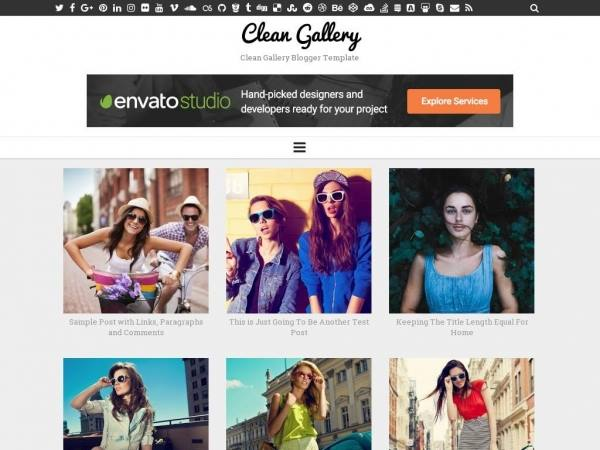 Clean Gallery (SEO & Responsive) Blogger Template. Demo and Download Link. Features of Clean Gallery Blogger Template.