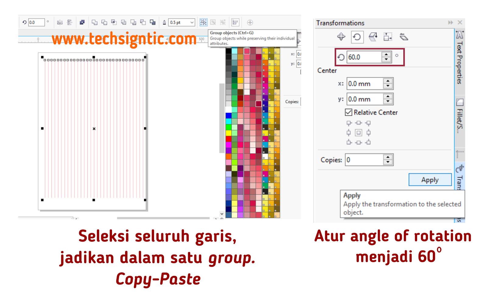 Cara Membuat Grid Untuk Isometrik Art Techsigntic