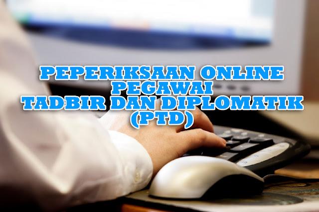 Peperiksaan Online Pegawai Tadbir dan Diplomatik (PTD)