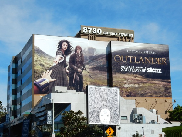 Outlander midseason 1 billboard