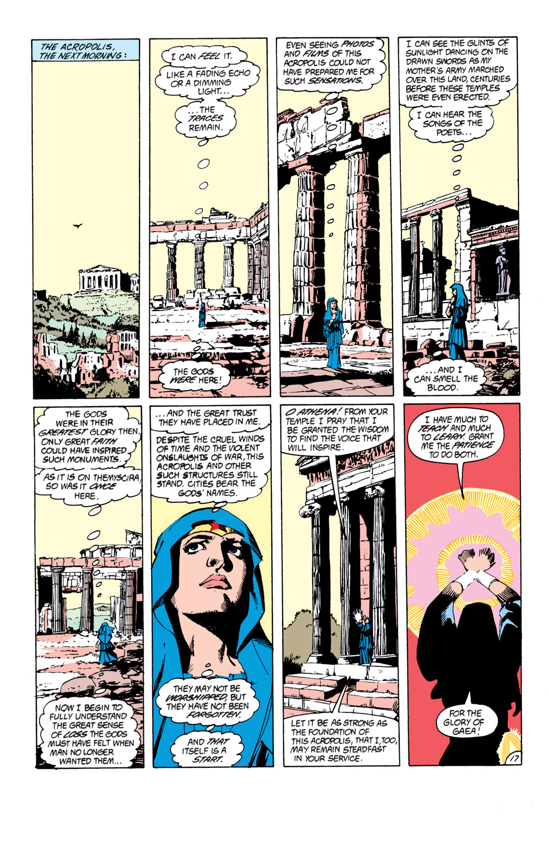 Read online Wonder Woman (1987) comic -  Issue #17 - 18