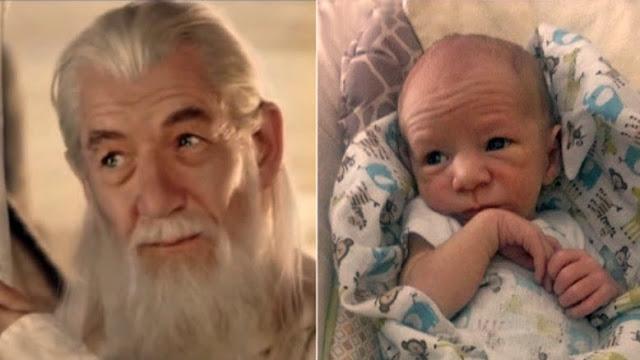 Inilah Bayi-Bayi Imut Mirip Artis Legenda