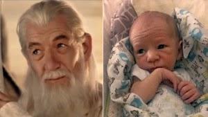 Inilah Bayi-Bayi Imut Mirip Aktor Legenda