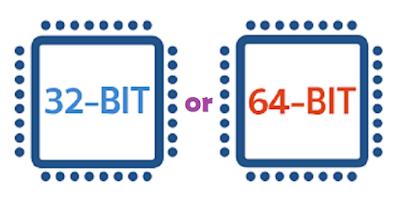 الفرق بين 32 بت و 64 بت