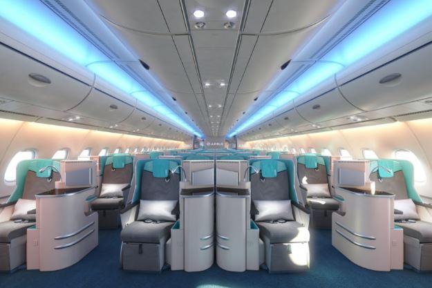 Airbus A380 cabin interior