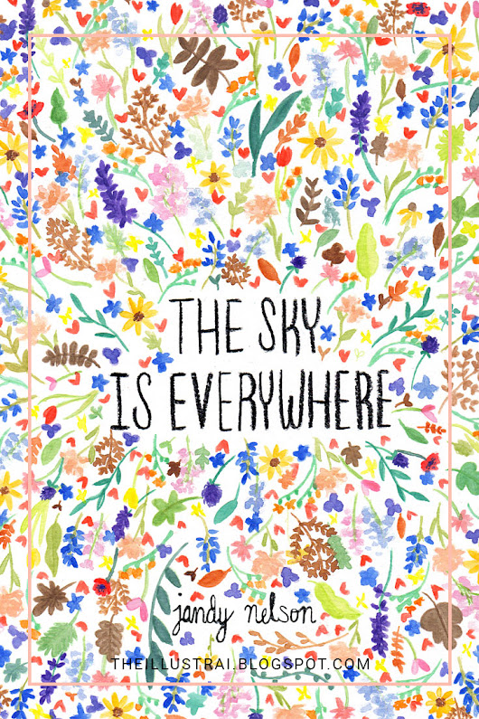 The Illustrai: Personal Project: The Sky is Everywhere Cover Design
