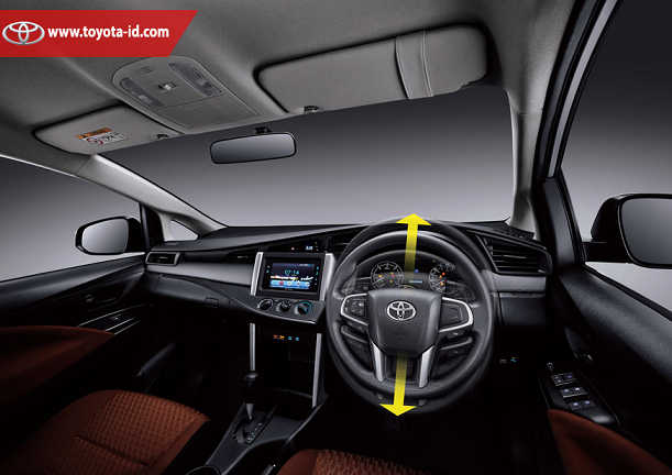 Cara Pengoperasian Audio All New Kijang Innova Dimensi Grand Avanza 2015 Spesifikasi Tipe G Toyota Astra Indonesia Kemudi Untuk Pada Sisi Kanan Tidak Terdapat Tambahan Tombol Seperti Yang Ada V Dan Q Unit Memiliki