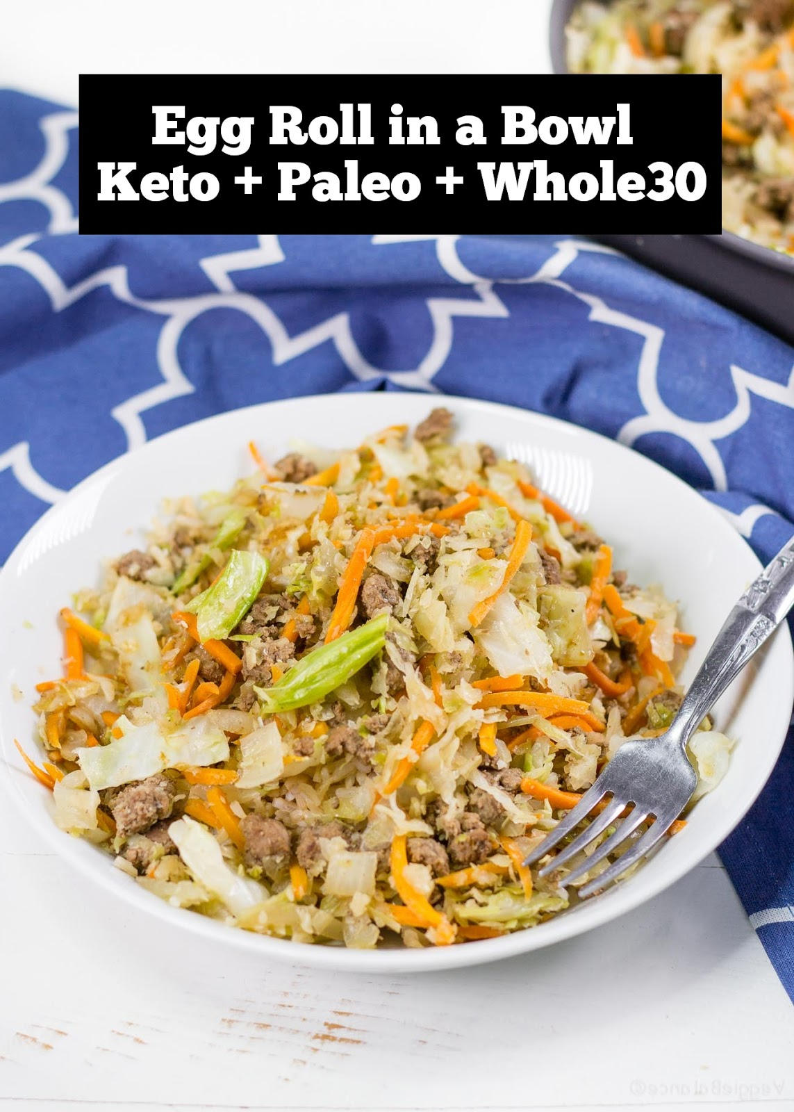 Egg Roll in a Bowl | Keto + Paleo recipe | Whole 30 Recipes | Dinner Recipes Healthy, Dinner Recipes Easy, Dinner Recipes For Family, Dinner Recipes Vegan, Dinner Recipes For Two, Dinner Recipes Crockpot, Dinner Recipes Chicken, Dinner Recipes With Ground Beef #dinner #dinnerrecipe #keto #paleo #whole30 #eggroll #ketodiet #ketogenic #ketodinner
