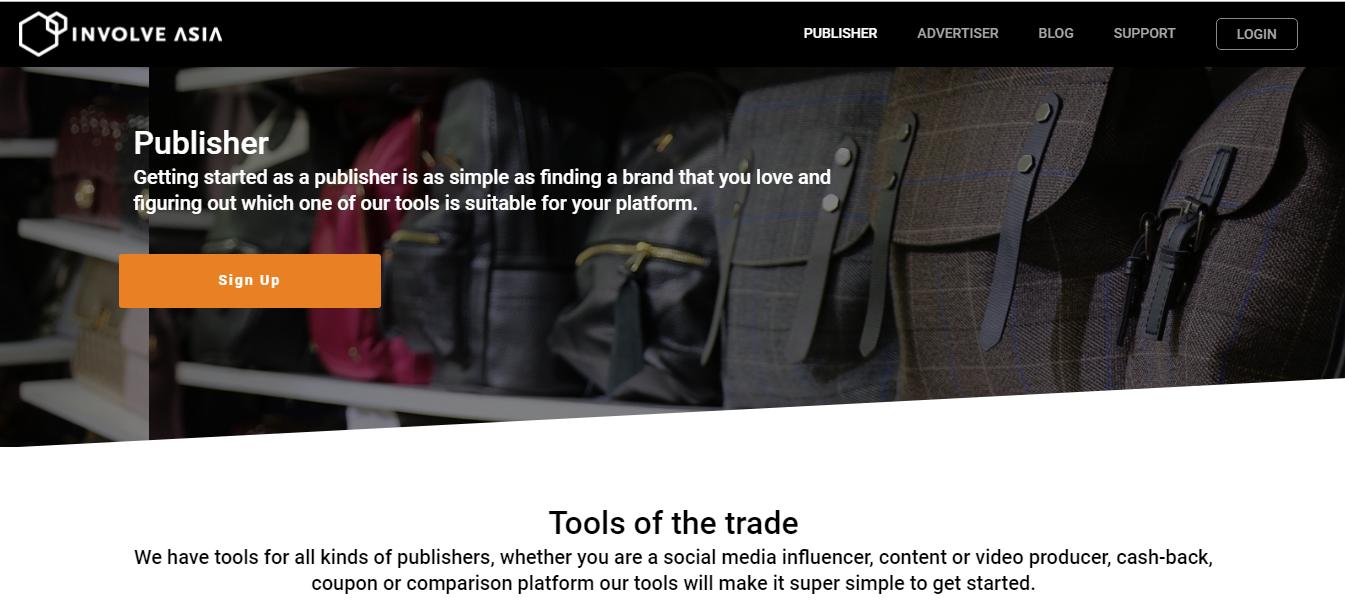 Publisher Sales Marketing Involve.Asia