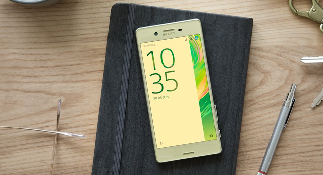Sony Xperia X Gets a New Concept Update Based on Android 7.1.2 Nougat