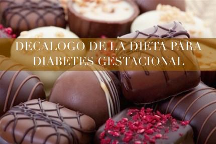 dietoterapia diabetes imágenes gestacionales