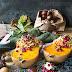 Kastanien-gefüllter Butternuss