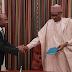 MPNAIJA GIST:Photos Pres Buhari receives briefing from CBN governor, Godwin Emefiele