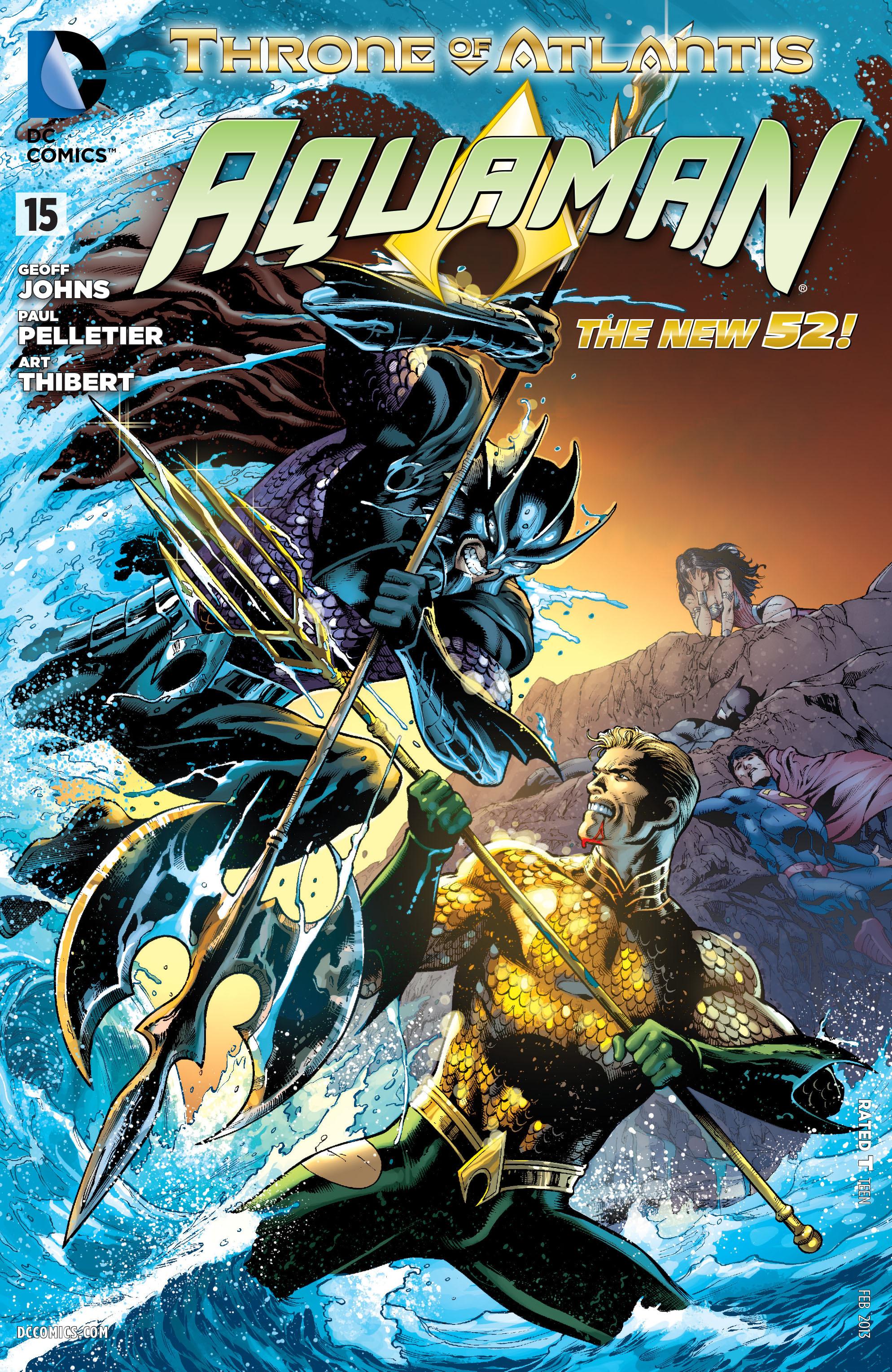 Read online Aquaman (2011) comic -  Issue #15 - 1
