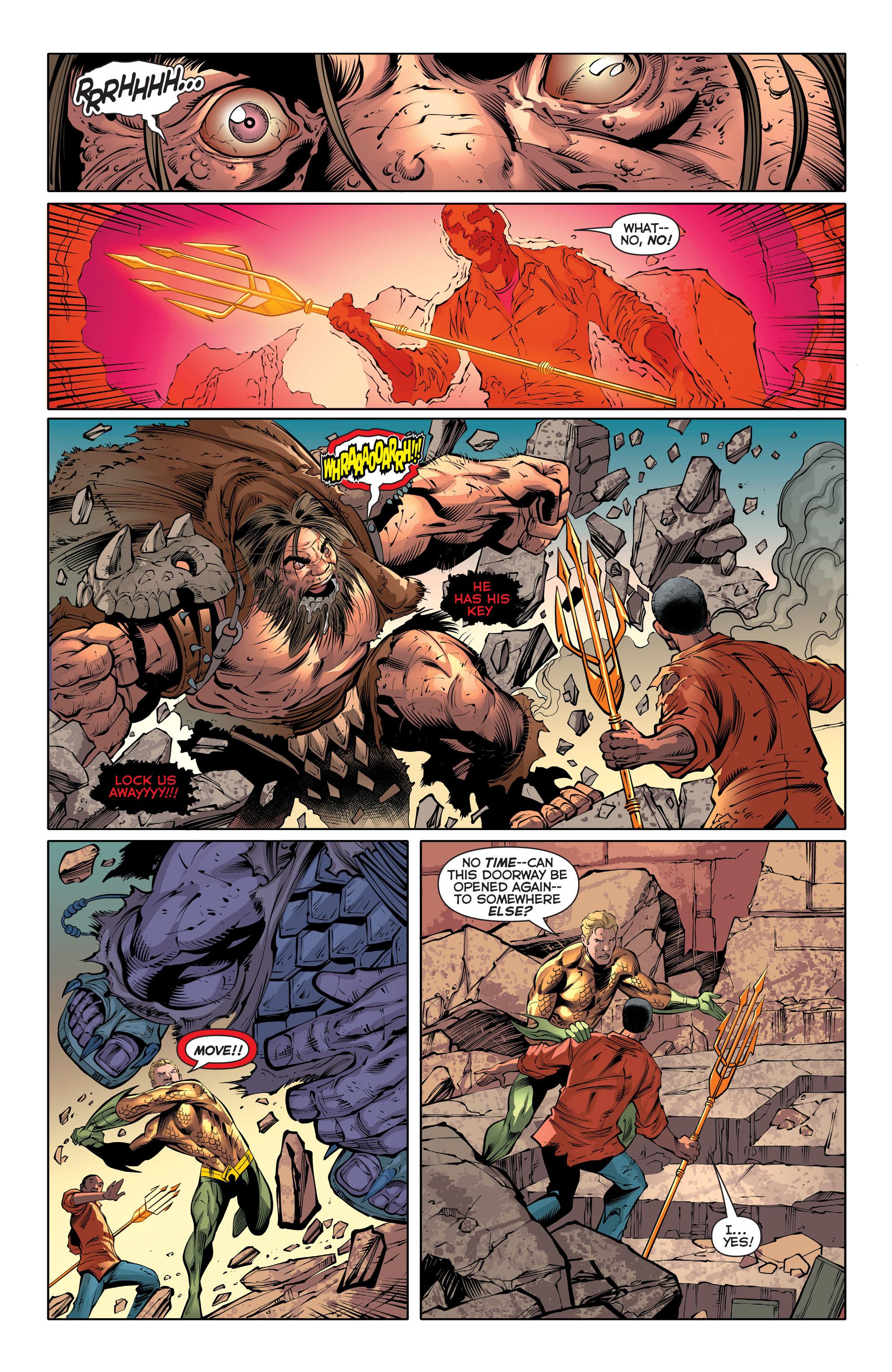 Read online Aquaman (2011) comic -  Issue #30 - 6