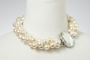 bridal jewelry, pearl necklaces, wedding jewelry