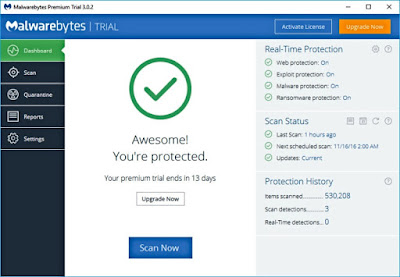تحميل برنامج حماية الكمبيوتر MAlwarebytes Anti-Malware مجانا