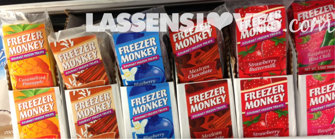 Freezer+Monkey Frozen+Gourmet+Treats, lassensloves.com, Lassen's, Lassens